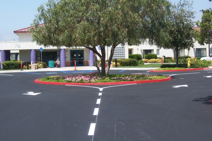 Parking Lot Striping Company San Diego