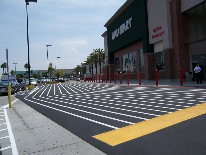 ADA Compliant Parking Lot Striping Company