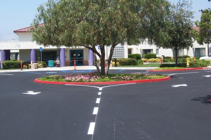 parking lot striper San Diego